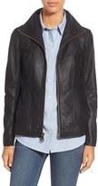 Andrew Marc Women's Lambskin Leather Jacket
