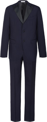 Boglioli Slim-Fit Satin-Trimmed Wool Tuxedo