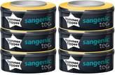 Tommee Tippee 82037101 - Sangenic - Lot de 6 nouvelles recharges compatibles pour Poubelles à Couches SANGENIC