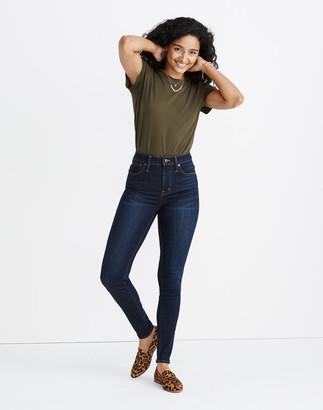 Madewell Curvy High-Rise Skinny Jeans in Larkspur Wash: TENCEL Denim Edition