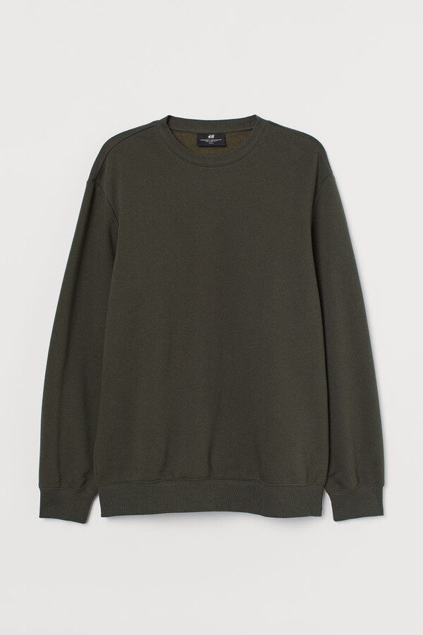 Thumbnail for your product : H&M Relaxed Fit Sweatshirt - Green