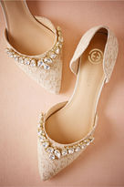 BHLDN Lotti Lace Flats