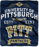 Northwest Company Pittsburgh Panthers Team Spirit Plush Throw