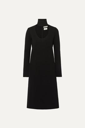 Bottega Veneta Cutout Stretch-knit Dress - Black