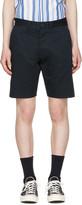 MAISON KITSUNÉ Navy Jay Chino Shorts