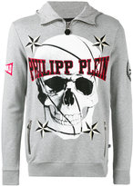 Philipp Plein skull print sweatshirt - men - Cotton - M