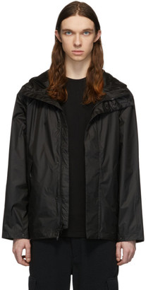 The Very Warm Black Ripstop Hooded Jacket