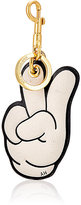 Anya Hindmarch Women's Victory Peace Sign Key Ring