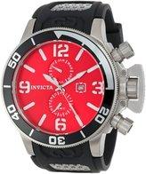 Invicta Men's 15175 Corduba GMT Dial Black Polyurethane Watch