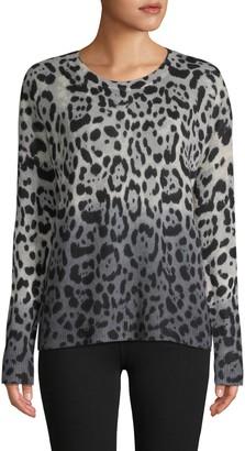 360 Sweater Leopard Cashmere Sweater