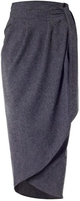 Meem Label Blake Grey Tulip Skirt