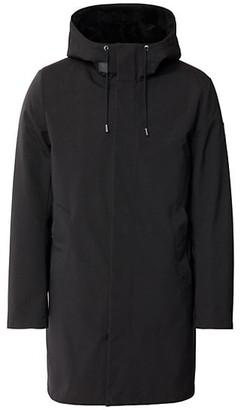 Mackage Vincent 2-In-1 Water Repellent Sheepskin-Lined Coat