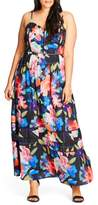 City Chic Plus Size Women's Maxi Dress