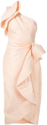 Acler Darcher one-shoulder dress