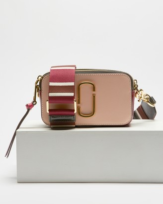 Marc Jacobs Women's Pink Leather bags - Snapshot Small Camera Bag - Size One Size at The Iconic