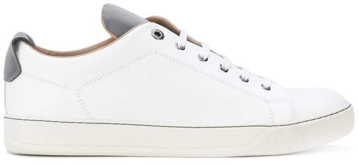 Lanvin contrast tongue sneakers