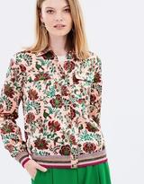 Maison Scotch Silk Shirt Jacket