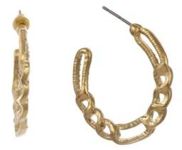 Christian Siriano New York Christian Siriano Gold Tone Linear Chain Link Earrings