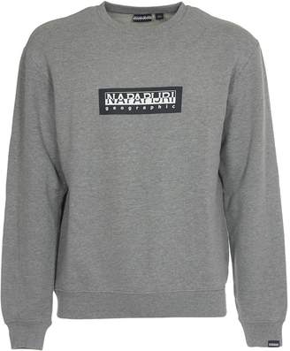 Napapijri Grey Sweatshirt With Logo