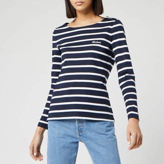 Barbour Women's Hawkins Breton Stripe Long Sleeve Top