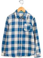 Scotch Shrunk Boys' Gingham Button-Up Top