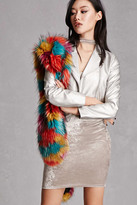 Forever 21 FOREVER 21+ Alex and Max Faux Fur Stole