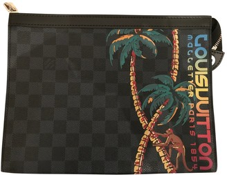 Louis Vuitton Voyage Anthracite Cloth Bags