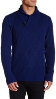 Autumn Cashmere Shawl Collar Toggle Pullover