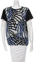 Proenza Schouler Printed Short Sleeve Top w/ Tags