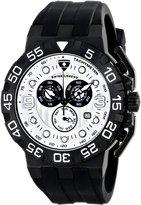 Swiss Legend Men's 10125-BB-02S Challenger Analog Display Swiss Quartz Black Watch