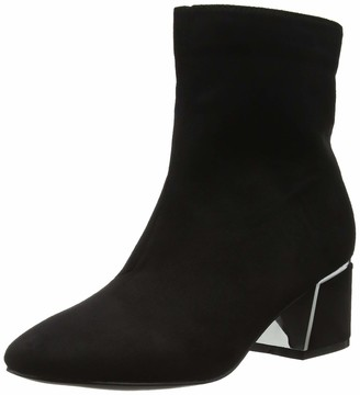 Lost Ink Women's Jessie Metal Heel Detail Ankle Boot