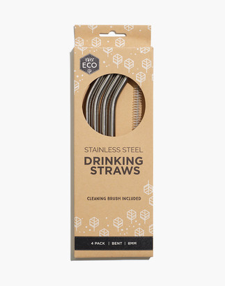 Madewell W&P Stainless Steel Porter Reusable Straw Set