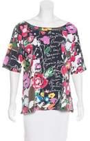 Sonia Rykiel Floral Printed T-Shirt