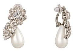 Nina Floral Clip On Earrings