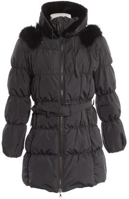 Prada Anthracite Silk Coat for Women