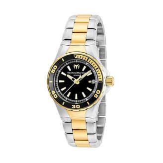 Technomarine TECHNO MARINE Techno Marine Womens Two Tone Stainless Steel Bracelet Watch-Tm-215061