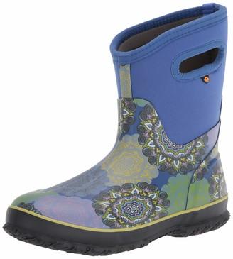 Bogs Women's Classic Mid Waterproof Insulated Rubber Neoprene Snow Rain Boot