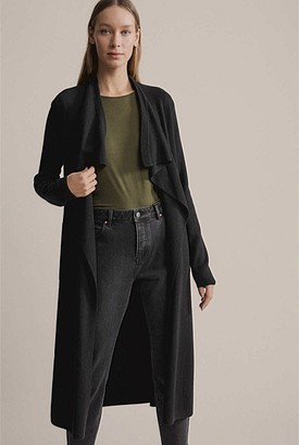 Witchery Longline Waterfall Cardigan