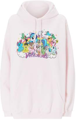 Vetements Cotton Unicorn Hoodie