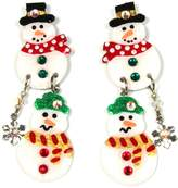 Mam MAM' Christmas Earrings Snow-Family