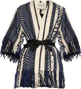 Sea Braided fringe-embellished jacket