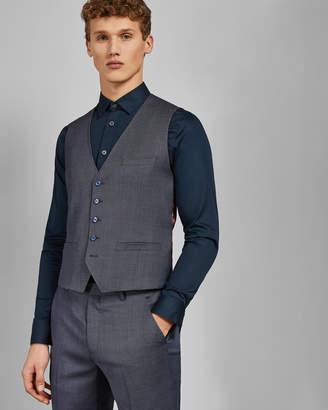 Ted Baker BEKDEBW Debonair birdseye wool waistcoat