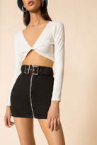 superdown Genevieve Mini Skirt
