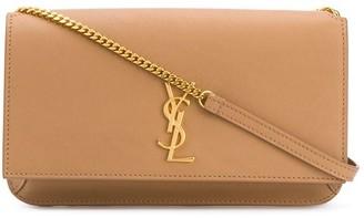 Saint Laurent Monogram fold-over purse