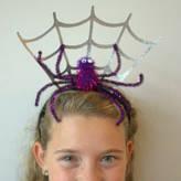 Little Ella James Halloween Spiderweb Headband