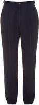 Giorgio Armani Pleated-front twill trousers