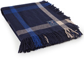 Lexington Company Lexington Wool Checked Throw Blue Multi 130x170cm