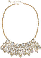 MONET JEWELRY Monet Crystal Gold-Tone Statement Necklace