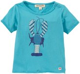 Appaman Lobster Print Tee (Baby) - Island Blue-18-24 Months