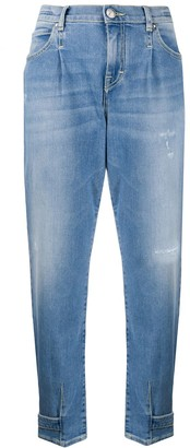 Jacob Cohen High Rise Tapered Jeans